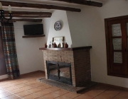 Chimenea Casa rural La Fuente_Bubion