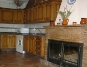 Cocina Casa rural La Grande_Bubion